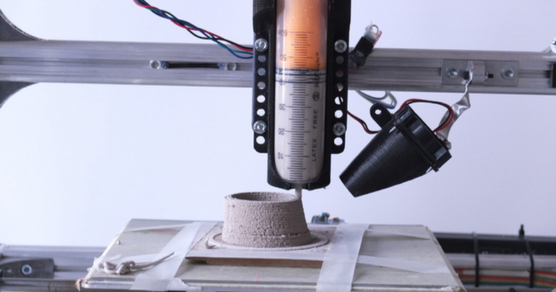 Turn Almost any 3D Printer Into a Paste Extrusion Printer With +Lab's 3D Printed Attachment