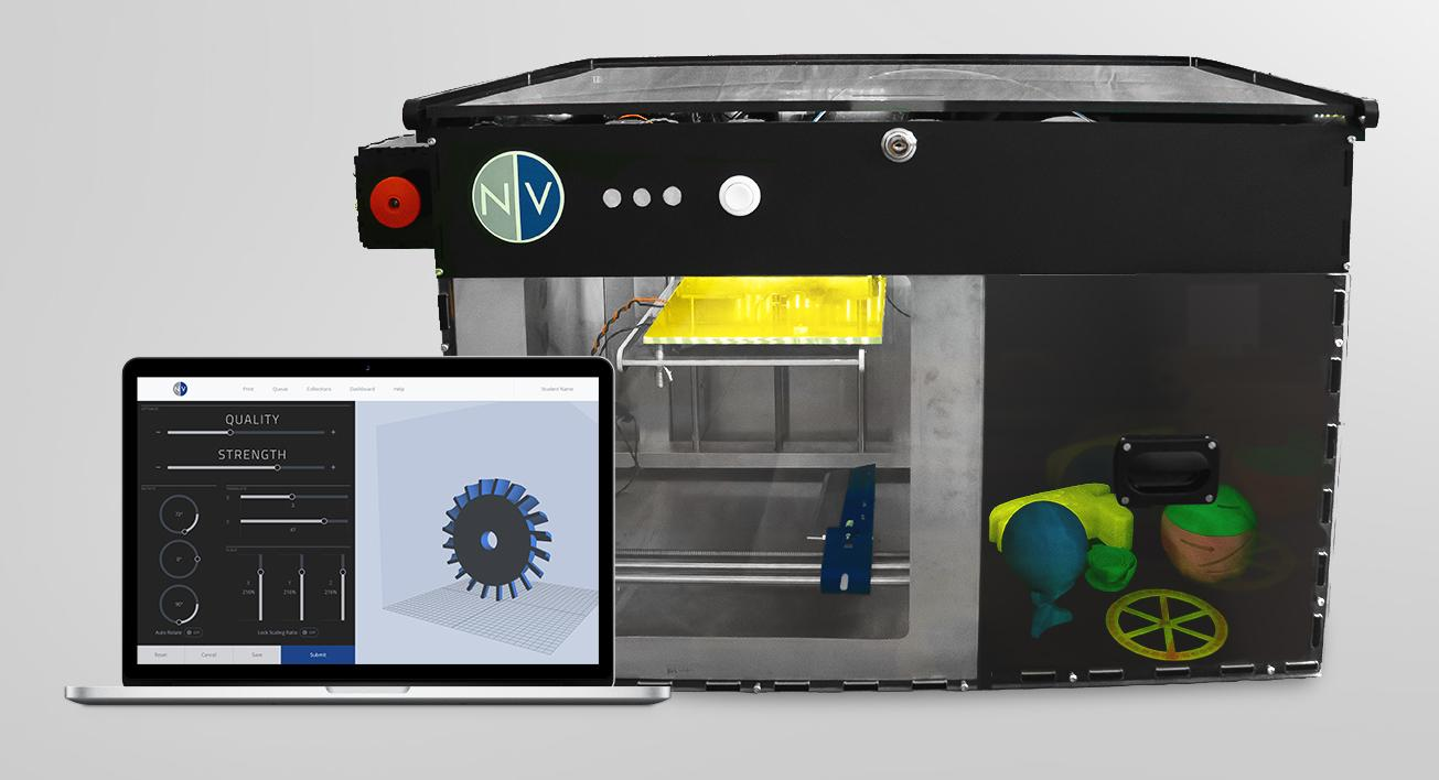 NVBOTS Launches Crowdfunding Campaign to Bring One-of-a-kind 3D Printer to Schools & Businesses