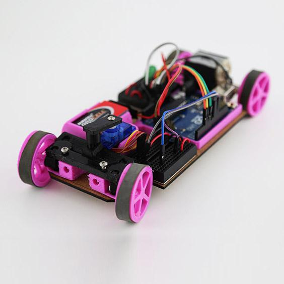 Arduino + Car = Carduino. 3D Printed RC Car That Can Be