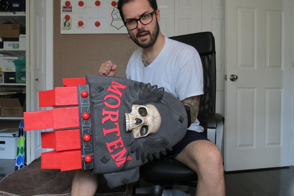 Florida Man 3D Prints Articulated Warhammer 40k Crimson Fist