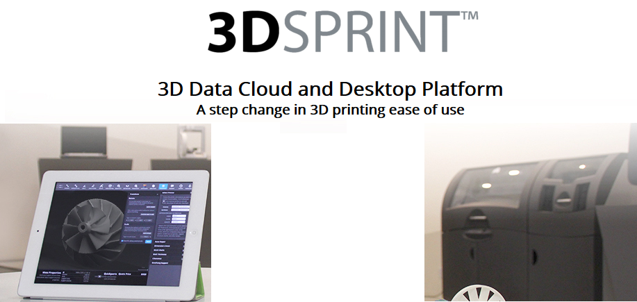 3D Systems Announces Free 3DSPRINT Cloud Design-to-Manufacture Platform