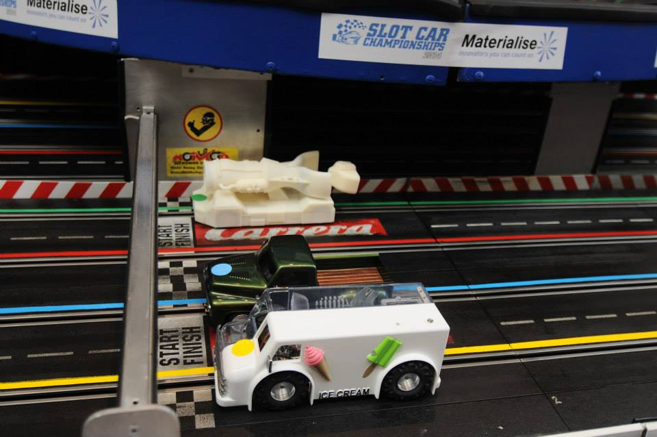 Slot Car Race at RAPID 2014