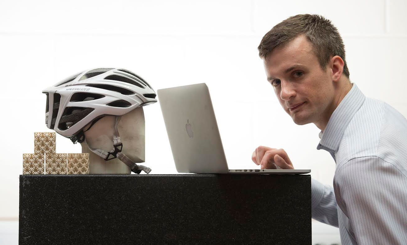 Researchers in the UK are Combining Supercomputing and 3D Printing to Create a Safer Bike Helmet