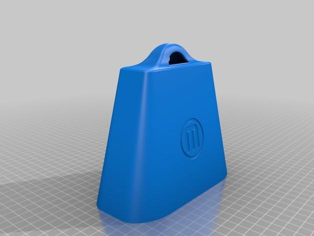 need more 3d printed cowbell  make music with makerbot u2019s