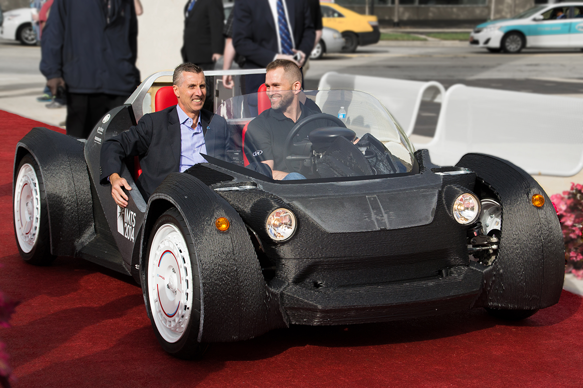3d Metal Printing >> Local Motors to 3D Print a Second Strati Car This Week, Two Days Faster Than the First | 3DPrint ...