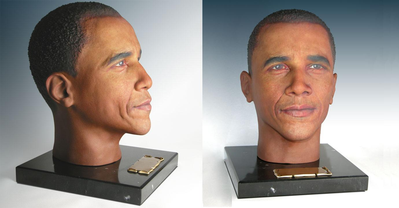 Cremation Solutions Creates Urns That Replicate Your Deceased Loved Ones.... Or President Obama?