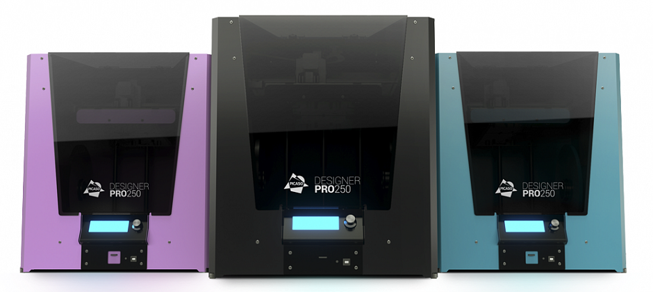 PICASO 3D's Designer PRO 250 3D Printer is Unveiled
