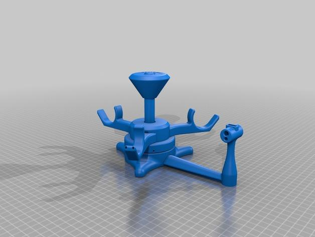 3d printed filament spool Assembly