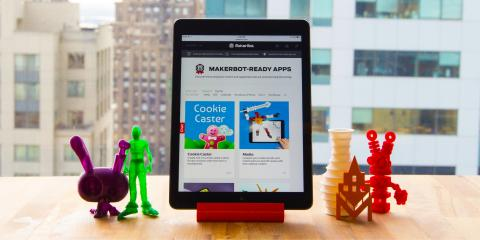 MakerBot-Ready Apps Portal Launches With an Initial Eight Apps From the Developer Program