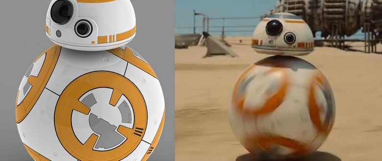 Star Wars Episode VII: The Force Awakens - Fan 3D Models a 3D Printable Ball Droid