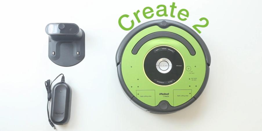iRobot Now Allows Users to Hack the Roomba With 3D Printing, Via Their 'Create 2' Robot