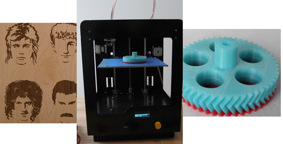 NemoMaker N1 3D Printer/Laser Engraver & Cutter Launches on Kickstarter for Under $500