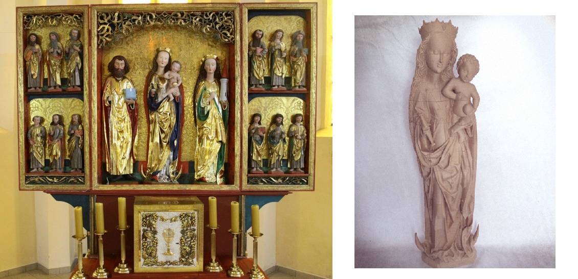 Fucco Design Creates Stunning 3D Printed Religious Sculptures Using ColorFabb's woodFill