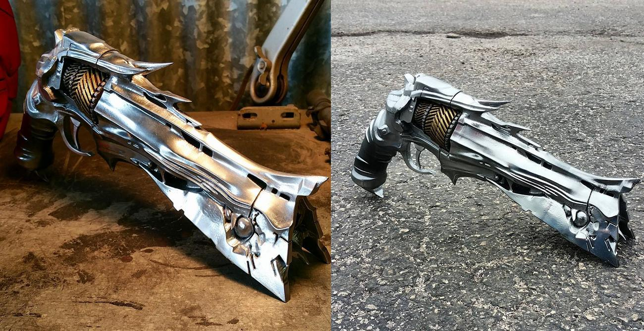 Destiny Fans Rejoice: There now exists an incredibly detailed Thorn Hand Cannon replica