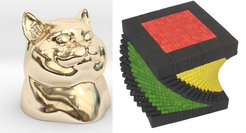 The 10 Most Viewed 3D Printed Products From Shapeways for November – $10K Cat, Dice & More