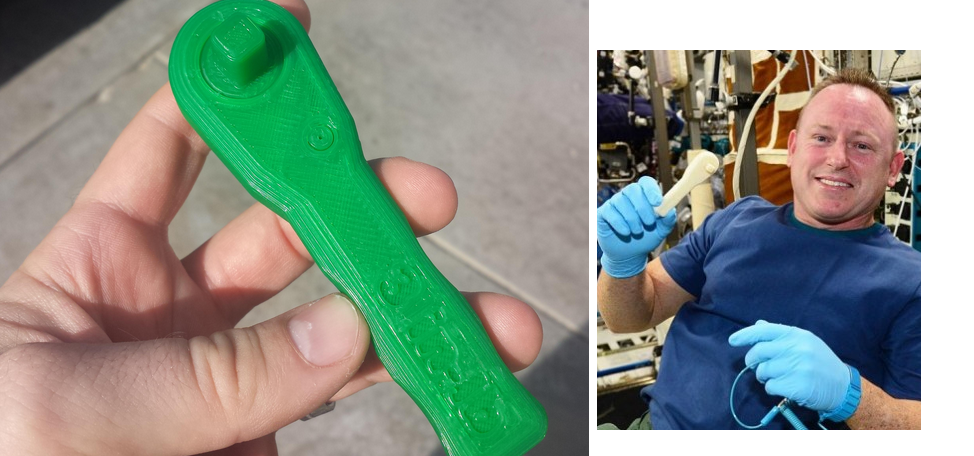 Now NASA Lets You 3D Print The Wrench They 'Emailed' to Space