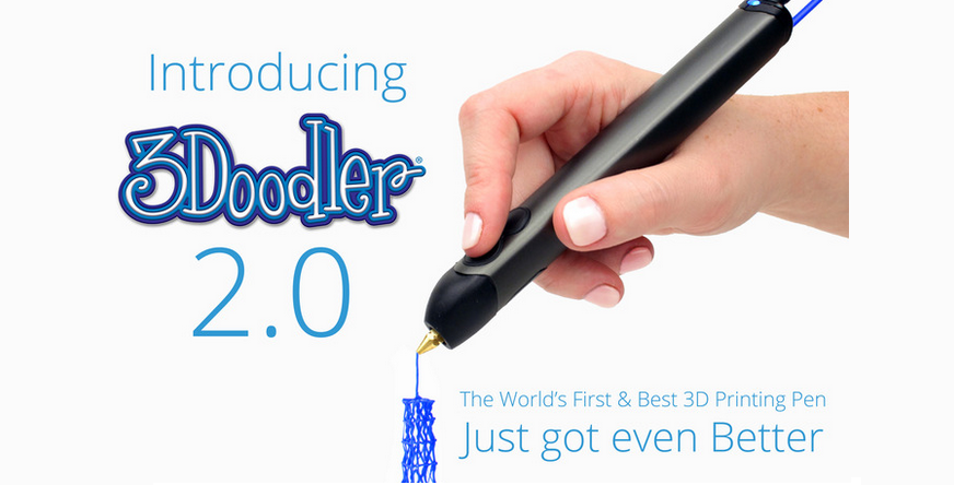 WobbleWorks Does It Again -- 3Doodler 2.0 Eclipses $1 Million on Kickstarter