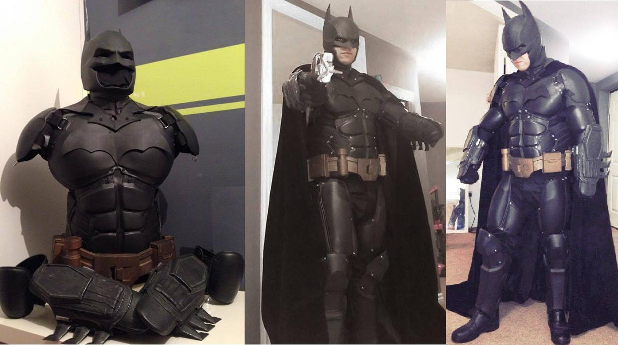 The Ultimate Arkham Origins Batman Suit is Fabricated Using 3D Printing and it's Amazing