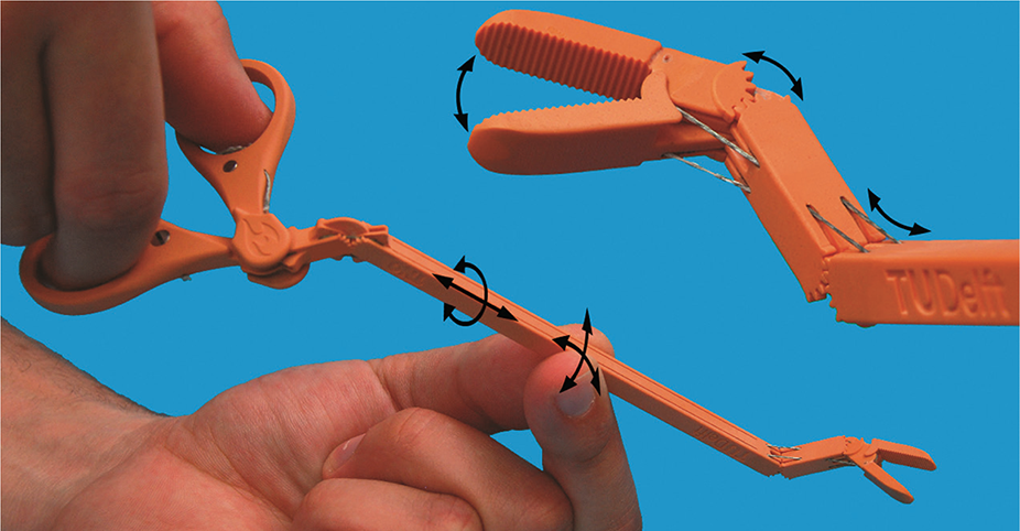 DragonFlex — A New 3D Printed Medical Device for Complex Procedures
