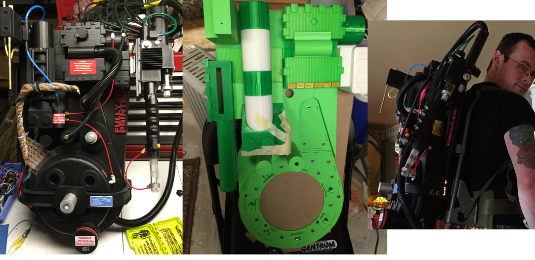 Who Ya Gonna Call For Your 3D Printed Ghostbusters' Proton Pack? Tom Lemieux!