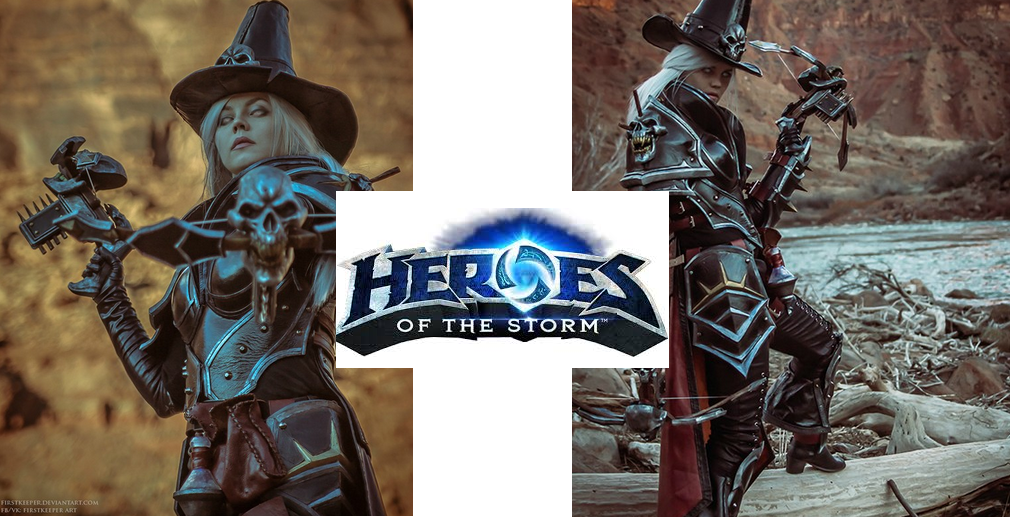 Heroes of The Storm -- Valla the Demon Hunter is Decked out in 3D Printed Armor