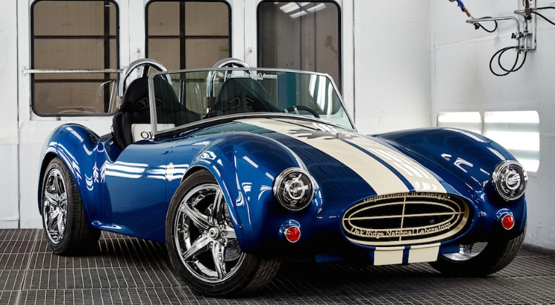 ORNL 3D Prints Working Shelby Cobra Replica -- President Obama Approves
