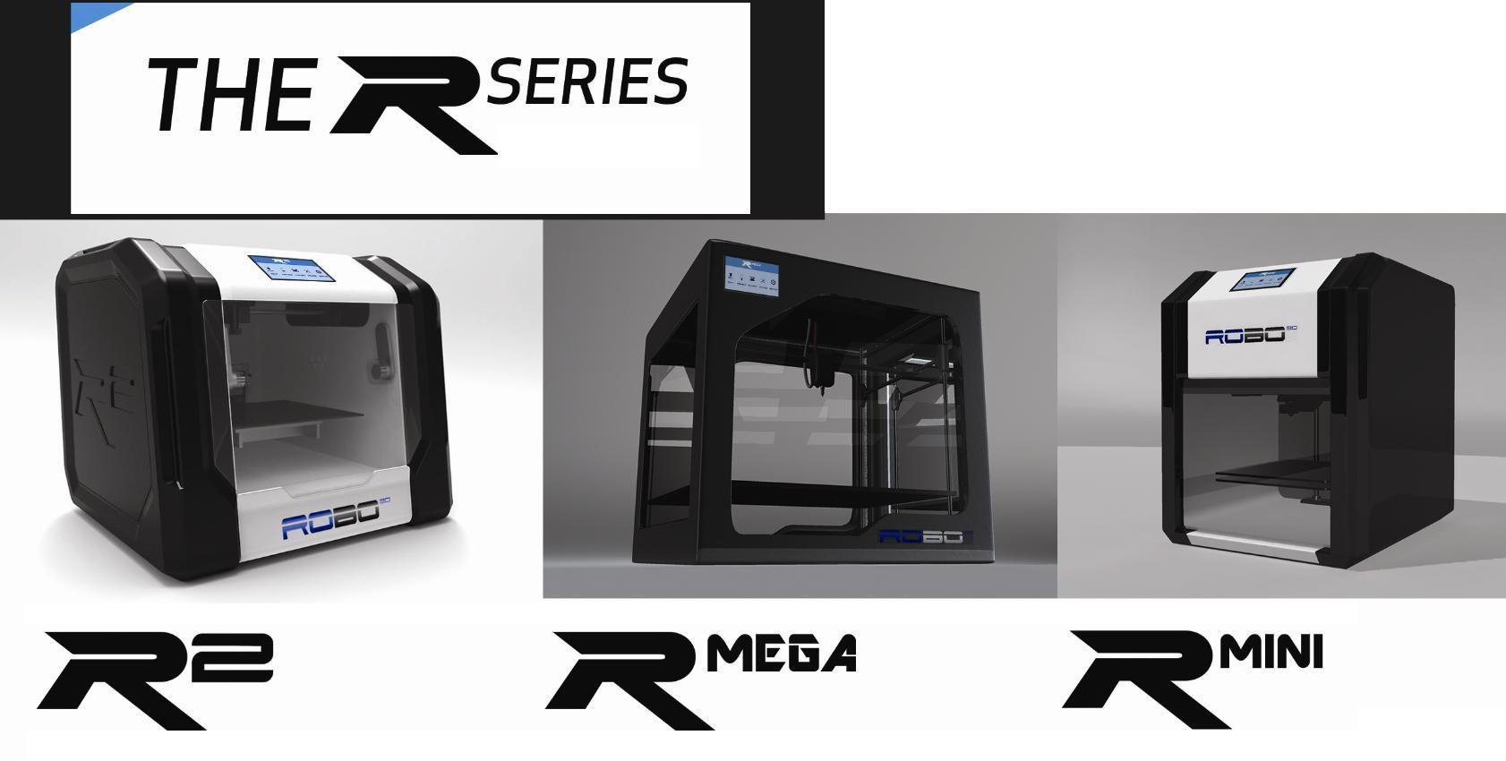 ROBO 3D Unveils Three New 3D Printers Full Color