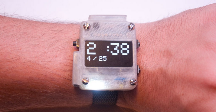Build Your Own Open-Source 3D Printed SmartWatch