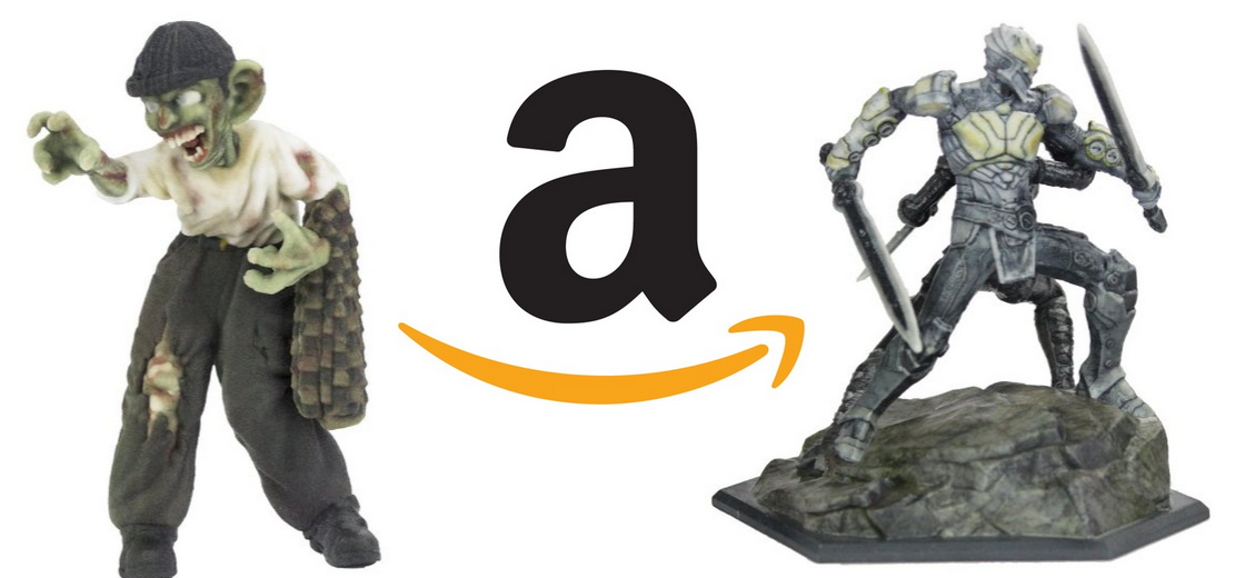 Sandboxr Brings Characters From Infinity Blade, Ender's Game & More to Amazon's 3D Print Marketplace