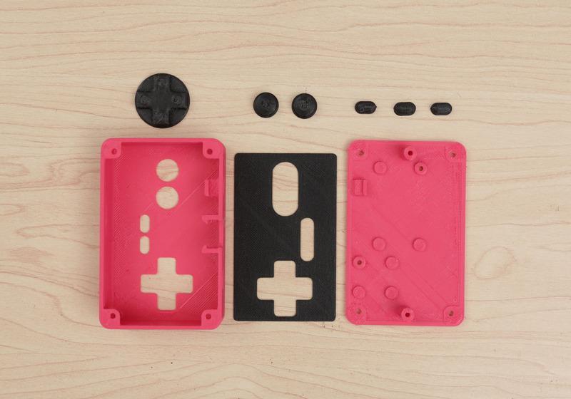 3dprinted parts gamepad