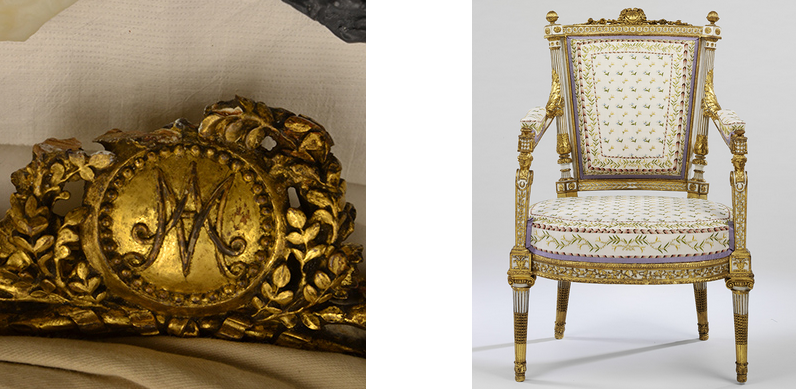 3D Printing Helps Museum Restore Lavish Chair Originally Owned By Marie  Antoinette