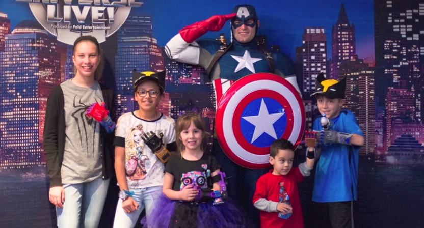"Marvel Universe LIVE! and e-NABLE Team Up for Adventure, Give Kids ""Super"" 3D Printed Hands"