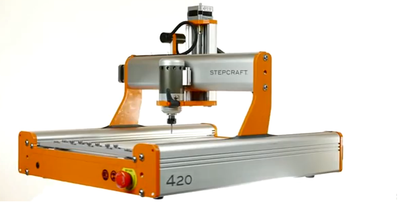 Stepcraft 2 -- An All-in-One 3D Printer, CNC Mill, Hot Wire Cutter, & More -- Launches on Kickstarter