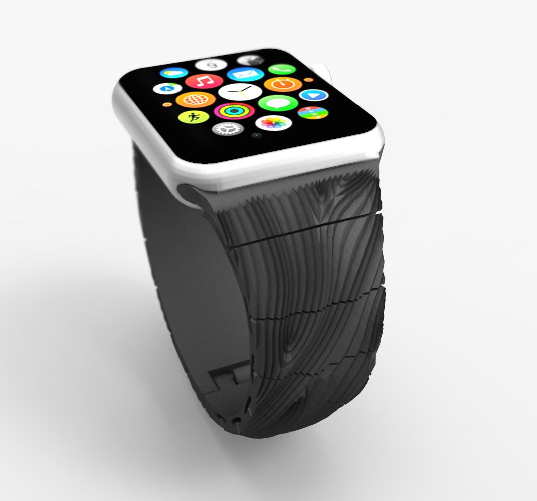 3d Printed Apple Watch Bands Soon Available From 3d