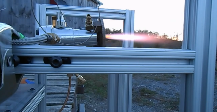 NJ Engineer 3D Prints Entire Open Source Liquid Fueled Rocket Engine