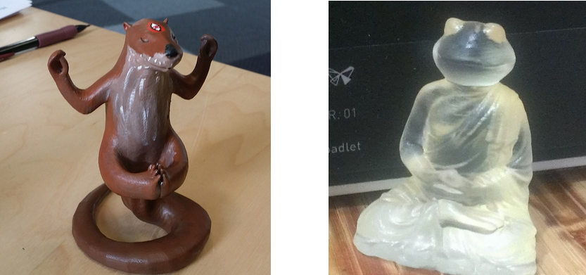Own a HappyToadlet or a NaturalChicken? Win the Formlabs Contest with 3D Printed Namesake Model