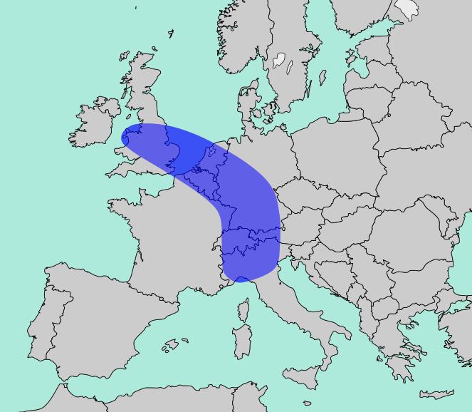 The Blue Banana