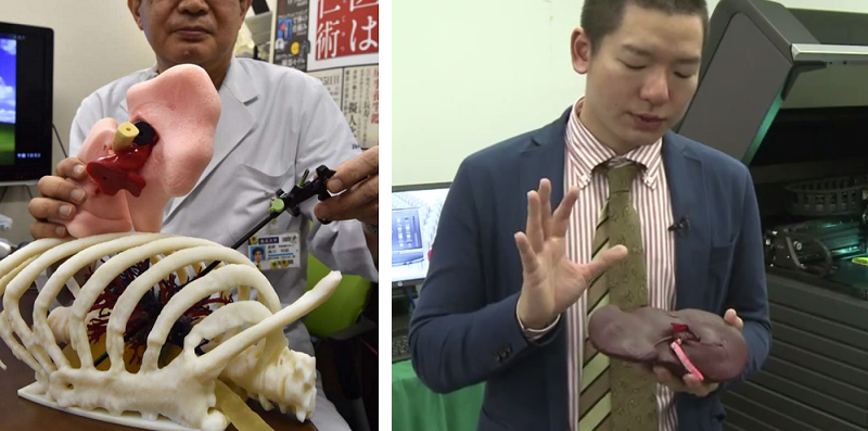 Japan's Fasotec Creates Realistic 3D Printed 'Biotexture Wet Models' for Surgical Training