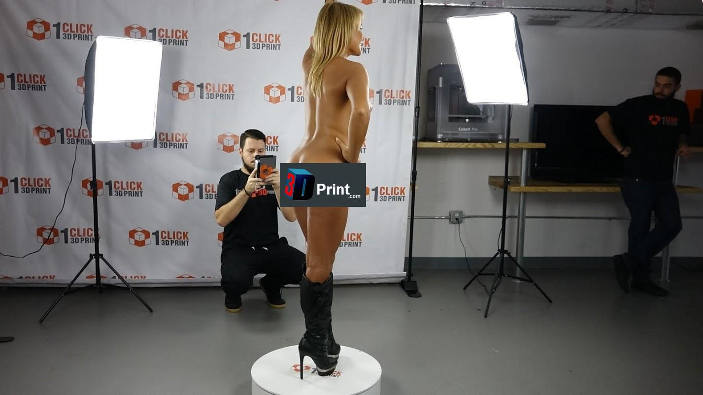 Jenny Scordamaglia getting scanned