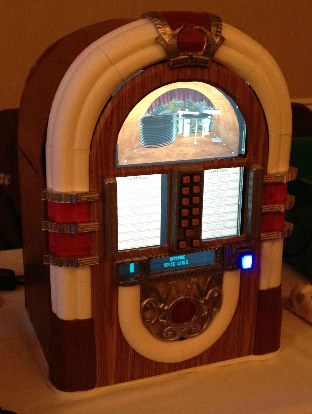 3D Metal Printing >> The Joint Is Jumpin'! Randy Cavanagh Builds a Rockin' 3D Printed Jukebox   3DPrint.com   The ...