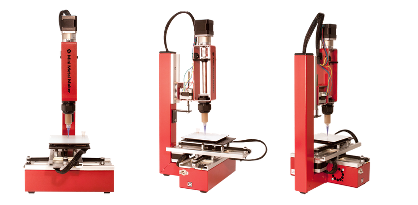 Mini Metal Maker, Affordable Metal Clay 3D Printer, Relaunches on Indiegogo to Fund Mass Production