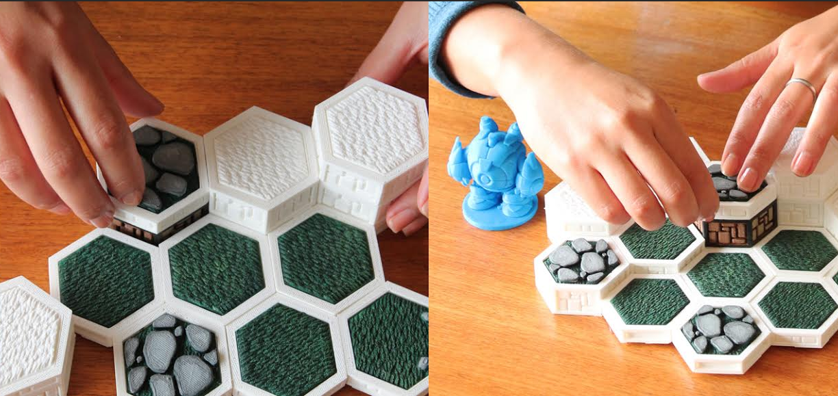 Open Board Game is a Framework For 3D Printing Sophisticated, Interactive Board Games