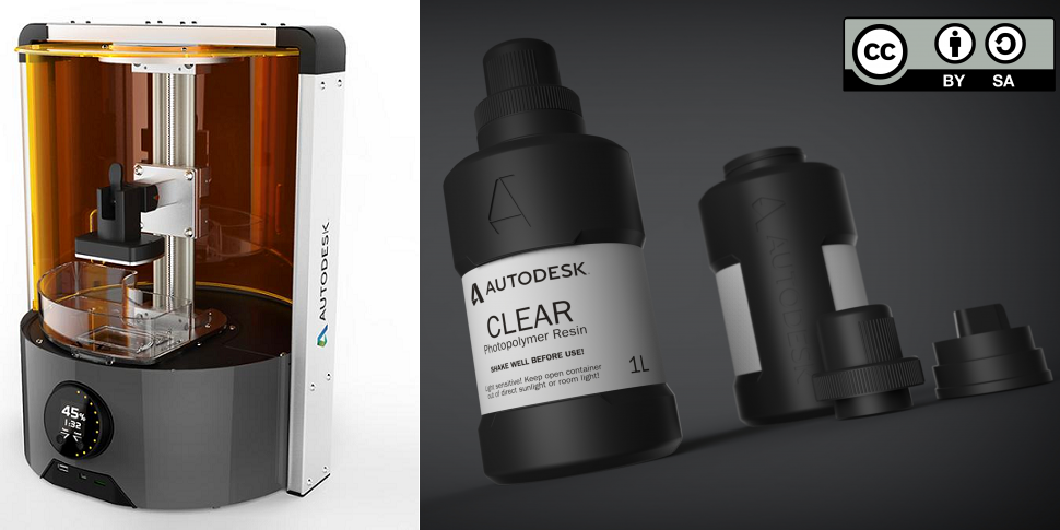 Autodesk Open Sources Their 3D Printer Resin – Providing Recipe to All & Opening the Door to New Materials