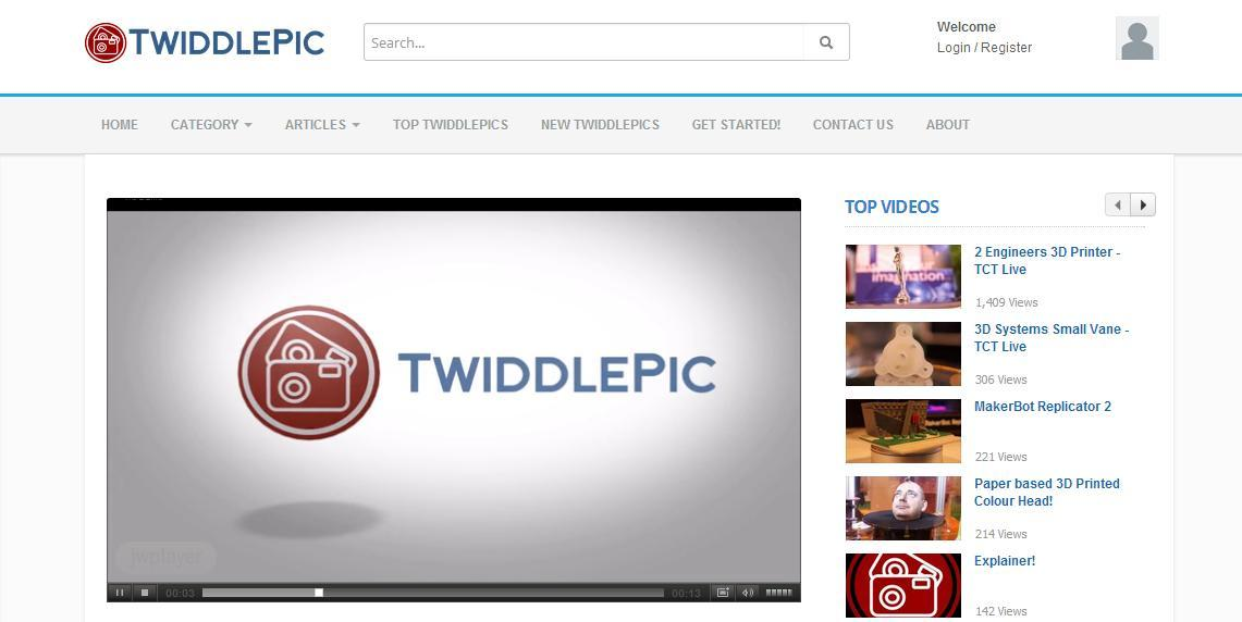 TwiddlePic Launches to Make Sharing and Viewing 3D Printed Objects Online More Realistic