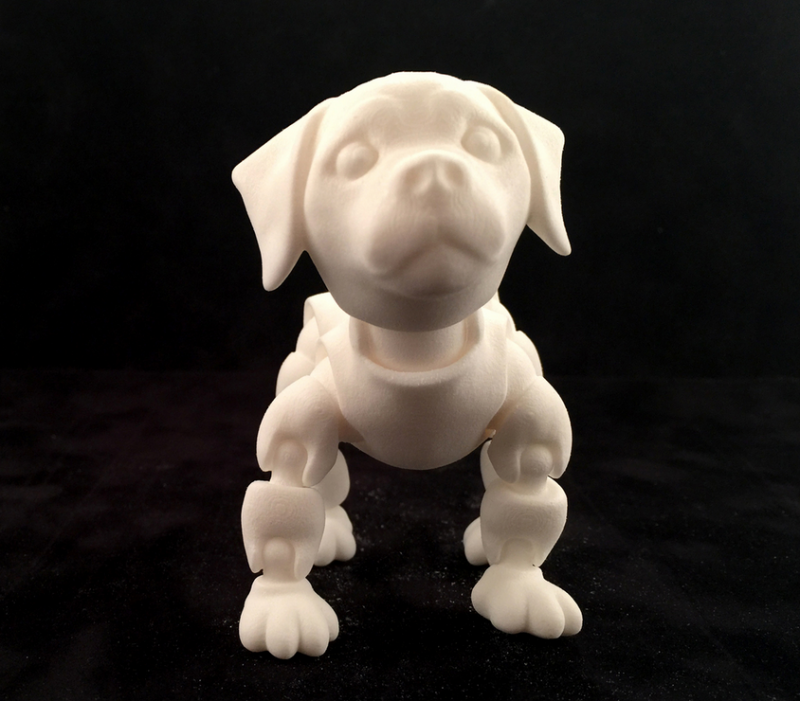 This 3D Printable Jointed Puppy is as Cute as a 3D Printed Button