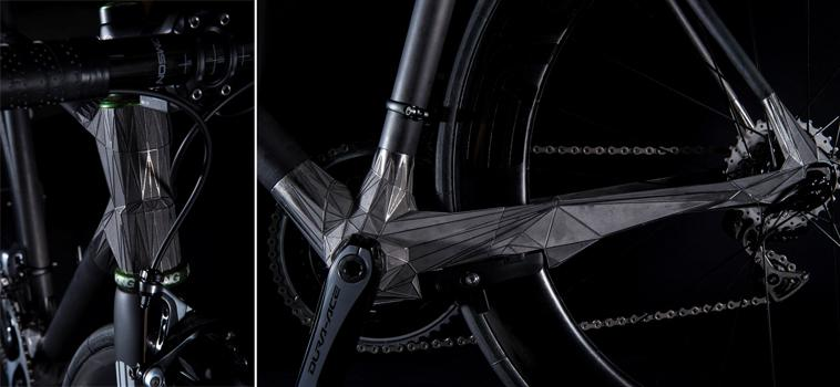 Japanese Designers Unveil an Amazing 3D Printed Titanium Bike