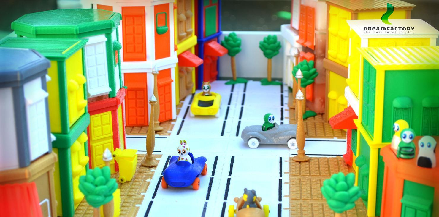DreamFactory Unveils 'BuddyRacers' – Fun, Educational, Functional 3D Printable Toy Cars for Kids