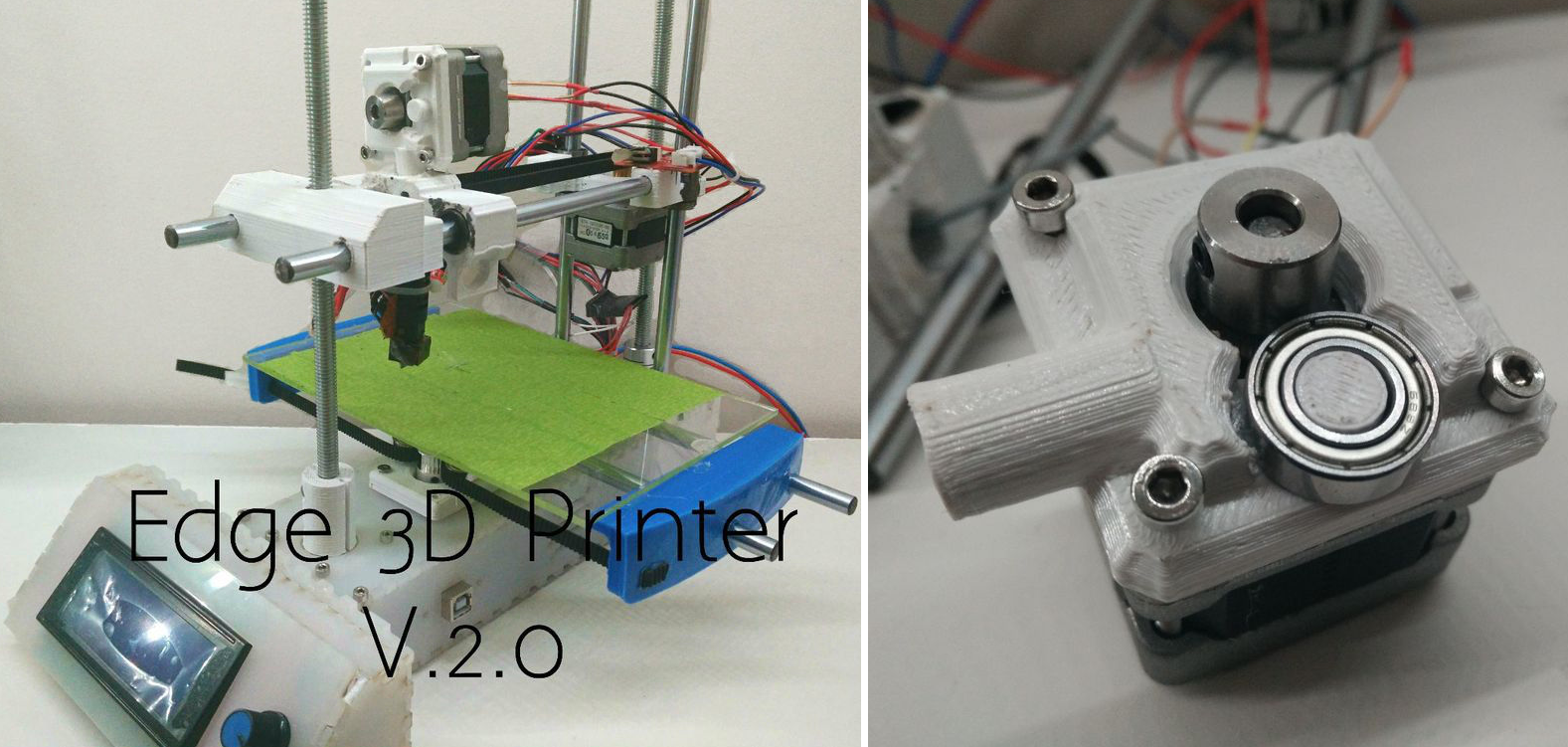 Edge 2 0 3d printer 13 year old maker designs builds 3d printer design software