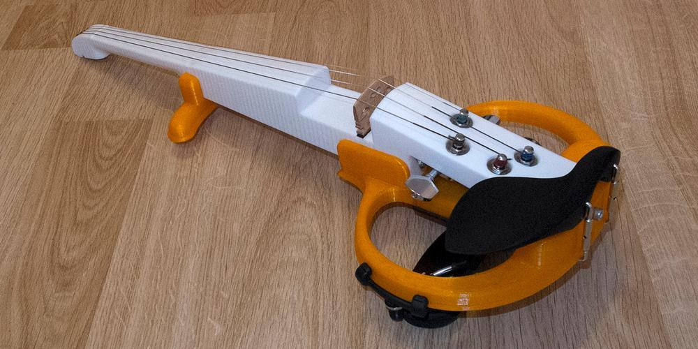 Siberian Scientist Creates an Amazing 3D Printed Electric Violin