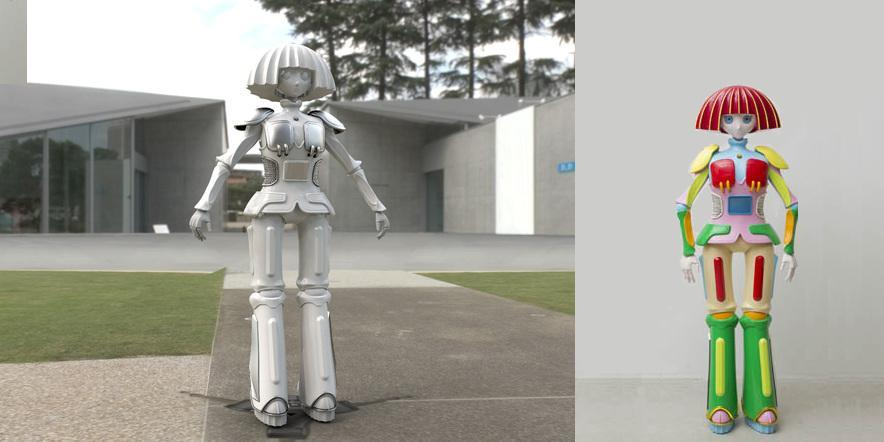 Japanese Company 3D Prints 'MAYUPO' - The Worlds 'Cutest' Female Robot Companion